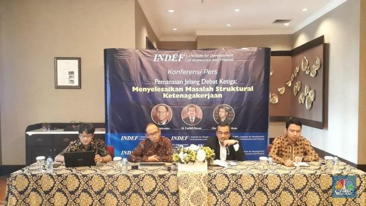 Jelang Ma'ruf vs Sandi: Keahlian Tenaga Kerja RI Masih 1.0