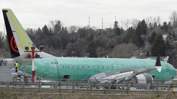 FAA: Boeing Seri 737 MAX Dilarang Terbang Hingga Mei