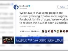 Facebook, Instagram, dan Whatsapp Lumpuh