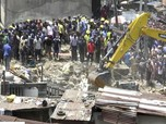 Tragis! 100 Anak Terjebak di Reruntuhan Sekolah Nigeria