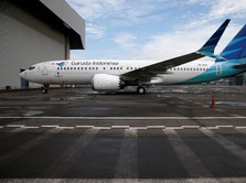 Batal Beli 49 Unit Boeing 737 MAX 8, Saham Garuda Jatuh 5%