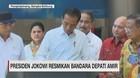 Presiden Jokowi Resmikan Bandara Depati Amir