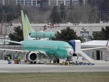 Jenis 737 MAX 8 Dilarang, Kekayaan Boeing Anjlok Rp 357 T