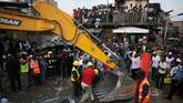 Nigeria kerap dilanda bencana bangunan runtuh. (REUTERS/Afolabi Sotunde)