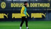Manchester United dikabarkan siap meluncurkan penawaran £80 juta untuk mendapatkan Jadon Sancho dari Borussia Dortmund. (Reuters/Andrew Couldridge)