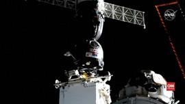 VIDEO: Sempat Gagal, Roket Soyuz Akhirnya Mendarat di ISS