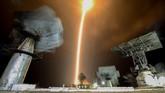 Penelusuran NASA dan Lembaga Antariksa Rusia Roscosmos menemukan adanya kerusakan sensor pada saat perakitan roket.(Kirill KUDRYAVTSEV / AFP)