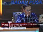 Impor Februari USD 12,2 Miliar