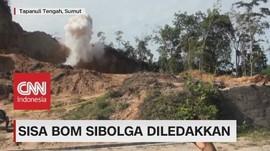 Sisa Bom Sibolga Diledakkan