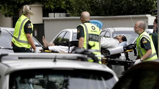 Selain di Al Noor, penembakan juga terjadi di sebuah masjid di Linwood pada waktu yang hampir bersamaan, sekitar pukul 13.40. (AP Photo/Mark Baker)