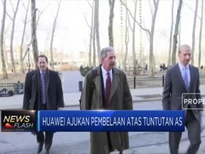 Huawei Ajukan Pembelaan di Pengadilan AS