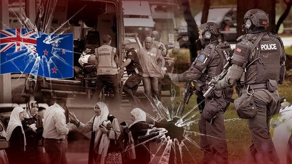 Teroris Masjid New Zealand