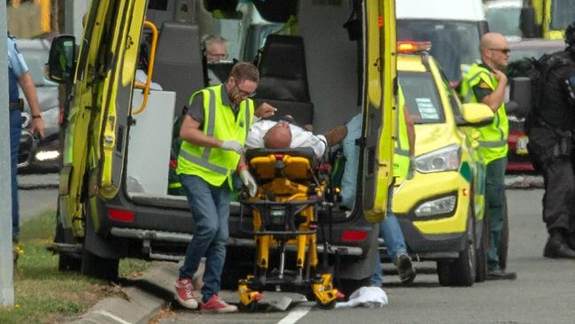 Penembakan Masjid Christchurch, Korban Tewas Jadi 49 Orang