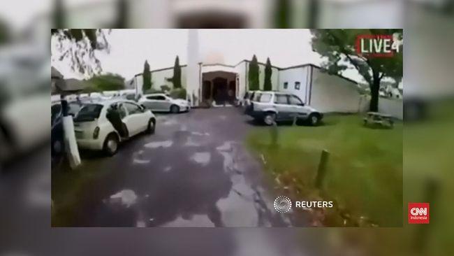 Video Penembakan Di Masjid Selandia Baru Wallpaper: VIDEO: Penembak Masjid Selandia Baru Siarkan Aksi Di Medsos