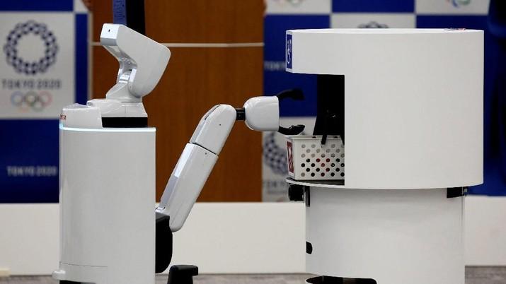 Canggih! Intip Robot-robot Pendukung di Olimpiade Tokyo 2020