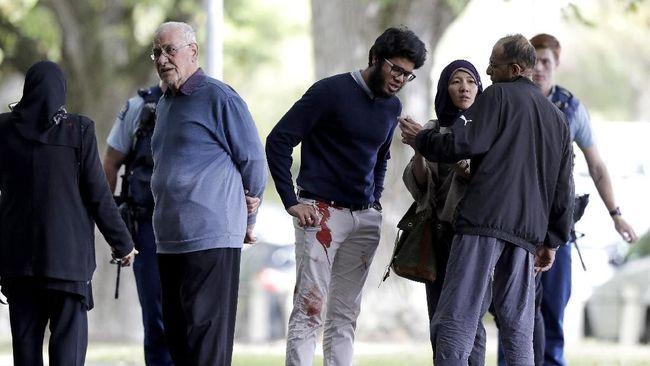 Penembakan Masjid Di Selandia Baru Wikipedia: Tragedi Penembakan Masjid Selandia Baru, Banyak Korban Tewas