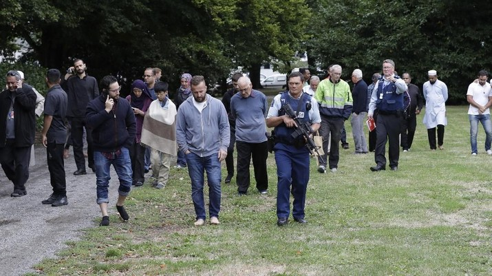 Penembakan brutal terjadi di Masjid Al Noor, Christchurch, Selandia Baru.