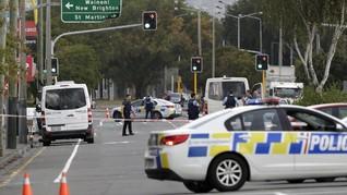Polisi Selandia Baru Penangkap Penembak Masjid Dapat Medali