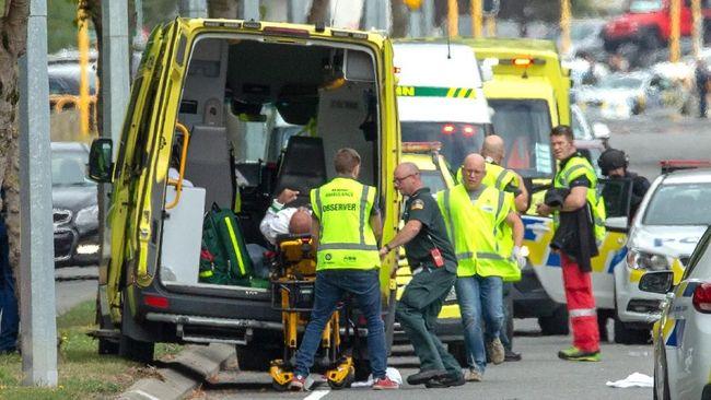 Pelaku Siarkan Langsung Penembakan di Masjid Selandia Baru
