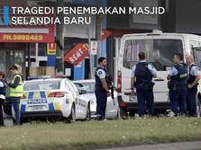 Puluhan Jamaah Masjid Tewas Ditembak di Selandia Baru
