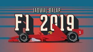 INFOGRAFIS: Jadwal Balap F1 2019
