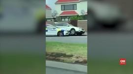 VIDEO: Aksi Polisi Meringkus Pelaku Penembakan Selandia Baru