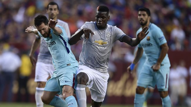 Fakta Man United vs Barcelona Usai Undian Liga Champions