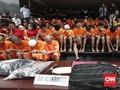 Empat Hari, Ratusan Penjahat Jalanan di Jakarta Diciduk