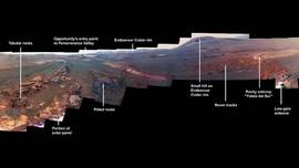 NASA Rilis Foto Terakhir dari Opportunity Sebelum Tutup Usia