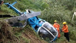 Tabrakan Heli dan Pesawat di Spanyol, Lima Orang Diduga Tewas