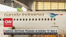 Garuda Hentikan Pesanan 49 Boeing 737 Max 8