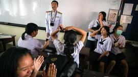 FOTO: Guru Tunanetra di Thailand