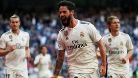 Zidane Kembali, Real Madrid Kalahkan Celta Vigo 2-0