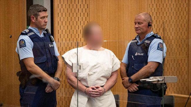 Sosok Dingin Pelaku Penembakan Selandia Baru