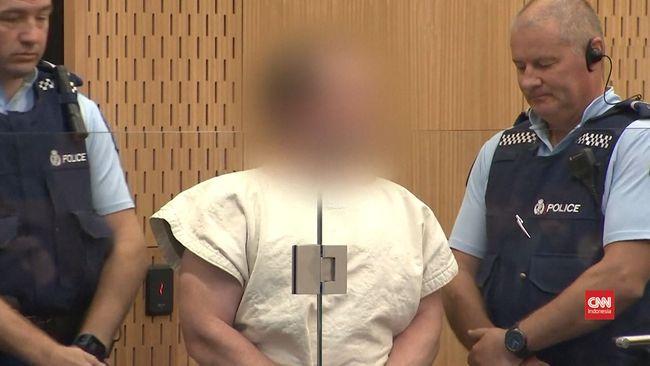 VIDEO: Pelaku Penembakan Selandia Baru Mulai Diadili