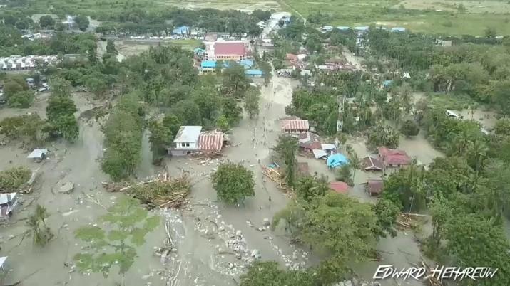 Ini Potret Terjangan Banjir Bandang Sentani Tewaskan 50 Orang