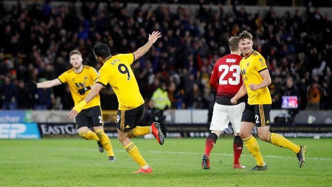 Man United Disingkirkan Wolverhampton dari Piala FA