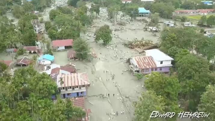Soal Banjir Sentani, Jokowi: Hutan RI Rusak Bertahun-tahun