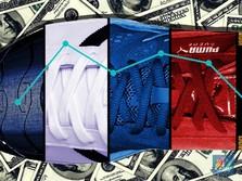 Sneakers Paling Laris di Dunia, Nike atau Adidas?