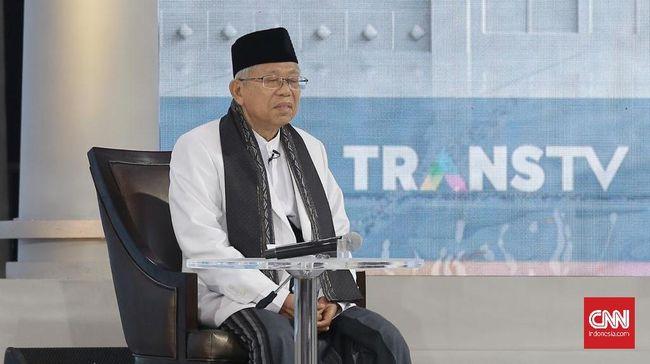 TKN Sebut Penampilan Ma'ruf Amin Saat Debat di Luar Dugaan