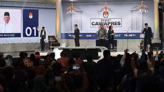 Petinggi BPN Prabowo hingga Menteri Jokowi di Lokasi Debat