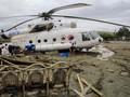 FOTO: Banjir Sapu Sentani, Seret Mobil Hingga Helikopter
