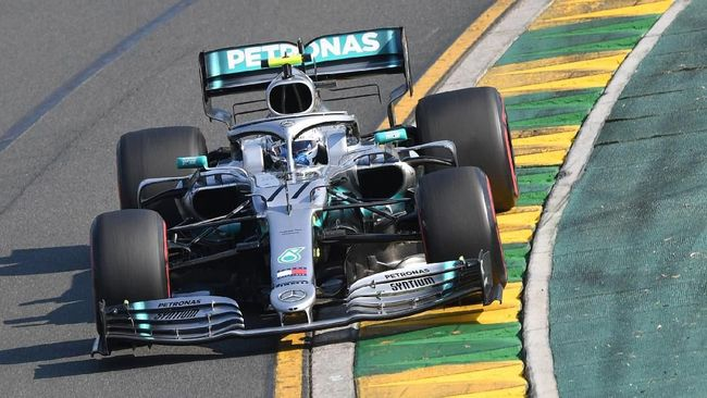 Kalahkan Hamilton, Valtteri Bottas Juara F1 GP Australia