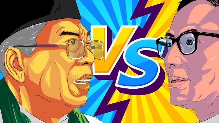 Ma'ruf Amin '10 Years Challenge' Vs Sandi Uno 'Link & Match'