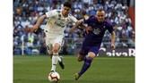 Marco Asensio yang sempat disebut-sebut sebagai anak emas Zinedine Zidane pada musim lalu, kembali mendapat kepercayaan tampil sejak menit awal.(REUTERS/Susana Vera)