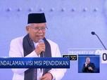 Ma'ruf Amin Janjikan Dana Abadi Riset