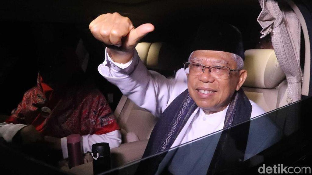 Ma'ruf Amin Yakin Raih 70% Suara di Bengkulu