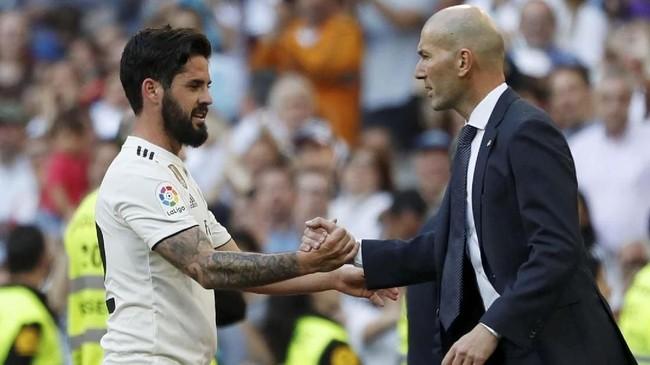 Isco membayar penuh kepercayaan Zinedine Zidane dengan menjadi pemecah kebuntuan gol Real Madrid saat menjamu Celta Vigo. (REUTERS/Susana Vera