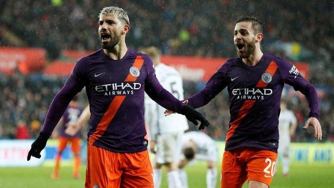7 Fakta Unik Kemenangan Man City Atas Swansea di Piala FA