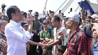 Jokowi Kampanye ke Kalimantan, Sandiaga Terbang ke Papua